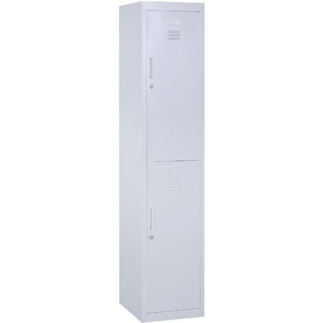 Awesome Cdn Manomano Com Vinsetto 18M Steel Locker Two Com Home Interior And Landscaping Ologienasavecom
