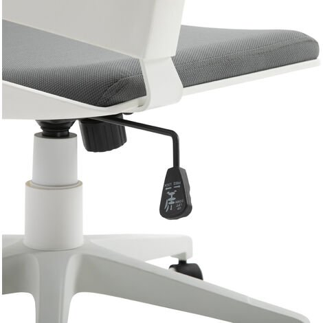 Vinsetto Mid-Back Office Chair Ergonomic Padded Seat Swivel Adjustable Height