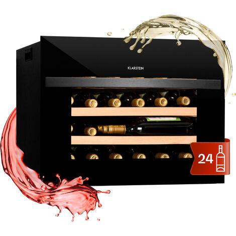 "main image of ""Vinsider 24 Built-In Uno cantinetta frigo per vino 1 zona 24 bottiglie EEK A+"""