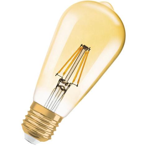 Vintage 1906 LED CL Edison FIL GOLD 22 non-dim 2,5W/825 E2 LEDVANCE 4058075808706