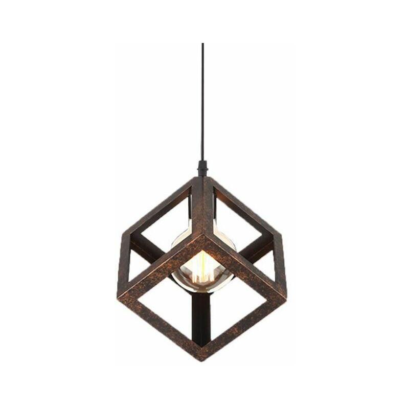 Vintage Ceiling Light Chandelier Lamp Retro Pendant With E27 Socket For Living Dining Room Bar Cafeteria Restaurant