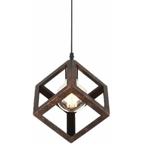 "main image of ""Vintage Ceiling Light Industrial Chandelier Retro Pendant Light E27 Lamp Socket for Living Dining Room Bar Cafeteria Restaurant"""