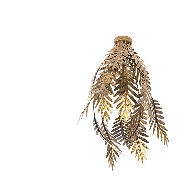 Vintage Deckenleuchte gold - Botanica - QAZQA