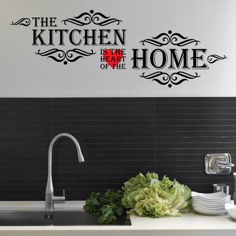 Vintage Kitchen Quote - 30cm x 85cm