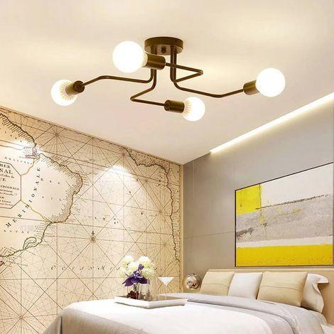 vintage lampe suspension industrie plafonnier luminaire. Black Bedroom Furniture Sets. Home Design Ideas