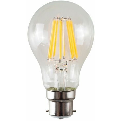 Vintage LED Bulbs Filament GLS B22 Lightbulb Lamp Amber A+