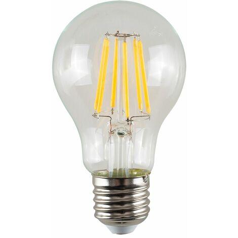 Vintage LED Bulbs Filament GLS Bulb Clear E27 Lightbulb Lamp Amber A+ - Pack of 5 - Clear