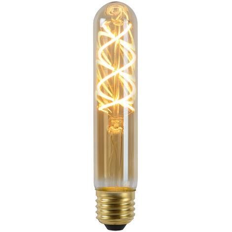 Vintage LED Lampe, dimmbar, E27, Röhre T30, Filament, 5W, 260lm, 2200K