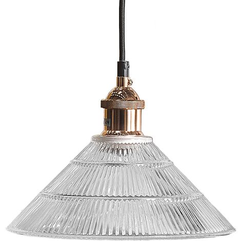 Vintage Pendant Light Decorative Glass Lamp Shabby Glam Curone