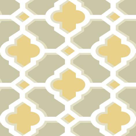 Vintage Retro Geometric Wallpaper Yellow White Taupe Paste The Wall Fine Decor