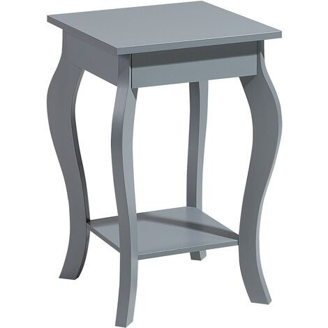 Vintage Shabby Chic Living Room Bedroom Coffee End Table Bedside Grey Avon