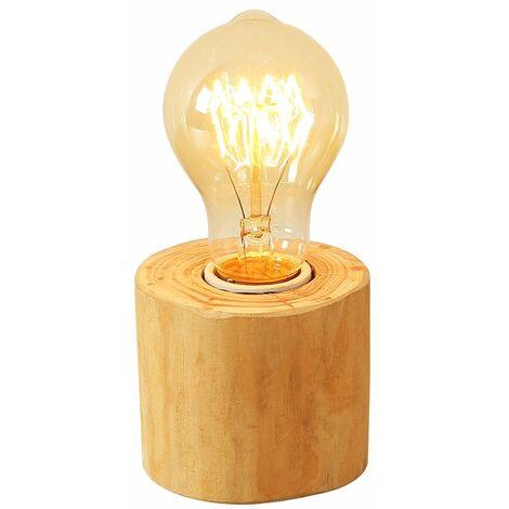 Vintage Tischlampen mit E27 Lampefssung Edison Lighting Industrial Loft Holz Stand Desk Lamp Tischlampe für Bedside Cafe Bar