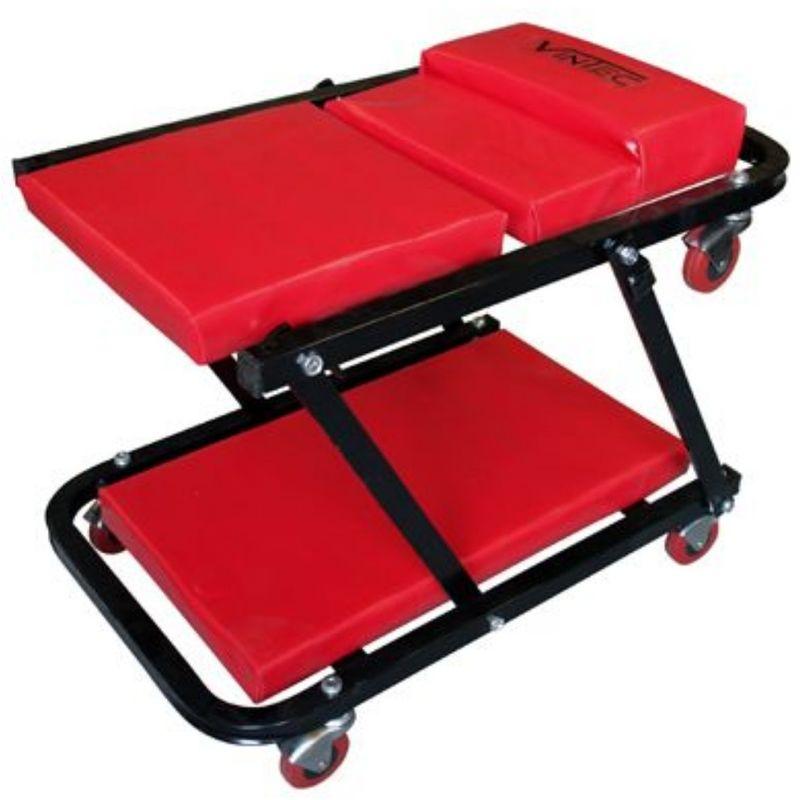 Montagerollbrett Werkstattliege Montageliege Rollliege Ergonomisch Lenkrollen 92x41x9,5cm bis 90 kg