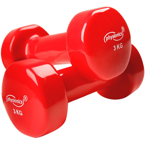 Vinyl Kurzhanteln Aerobic Hantel Handgewicht Fitness 2er Set