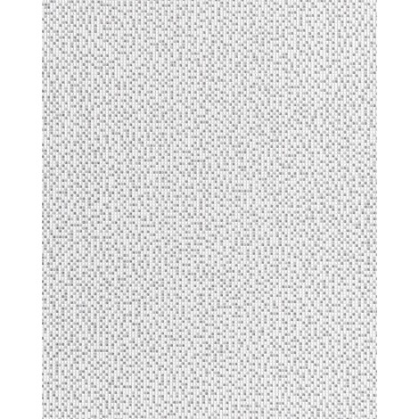 Vinyl wallpaper wall mosaic EDEM 1024-16 tile stone decor washable textured white grey silver