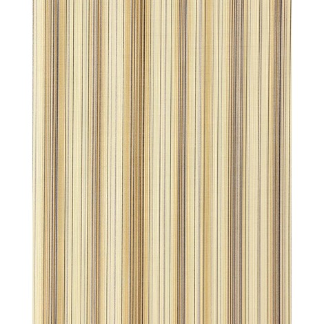 Vinyl wallpaper wall stripes EDEM 097-21 sumptuous stripes modern and noble brown beige old-rose silver 5.33 sqm (57 sq ft)