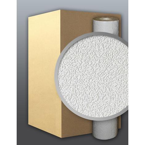 Vinyl wallpaper wall white EDEM 202-40 deco textured blown 1 cart. 9 rolls 71 sqm (764 sq ft)