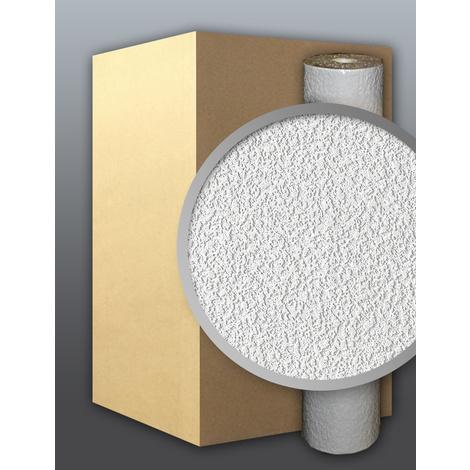Vinyl wallpaper wall white EDEM 204-40 deco textured blown 1 carton 9 rolls 71 sqm (764 sq ft)