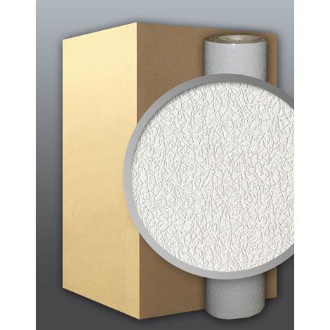 Vinyl wallpaper wall white EDEM 206-40 deco textured blown 1 carton 9 rolls 71 sqm (764 sq ft)
