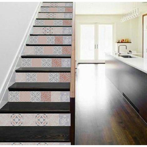 vinyle pour cr dence de cuisine adh sif contre marche d. Black Bedroom Furniture Sets. Home Design Ideas
