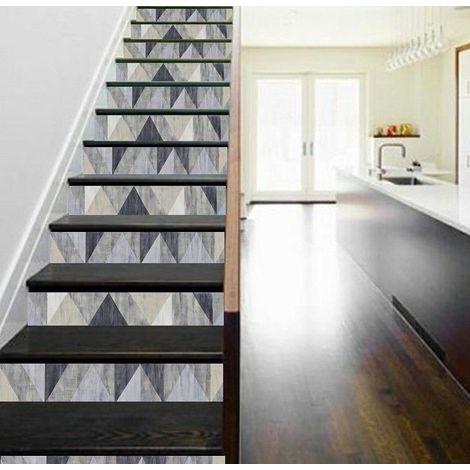 Vinyle pour crédence de cuisine adhésif / contre marche d\'escalier ...