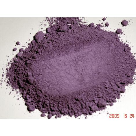 VIOLET OUTREMER - 250G - PIGMENT NATUREL POUR PEINTURE VIOLET OUTREMER À PARTIR DE 250G - violet outremer