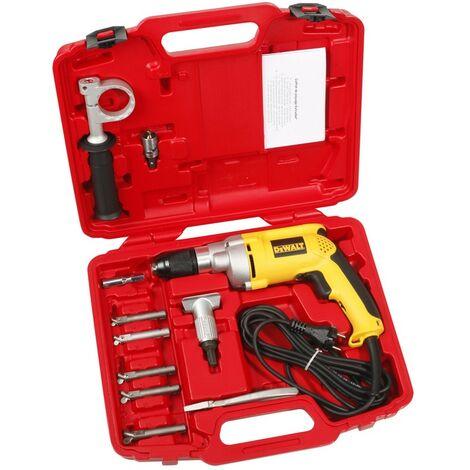 Virax - Set de perforación Extrudax® Taladro reversible 701W 230V Ø 12, 14, 16, 18, 22 mm