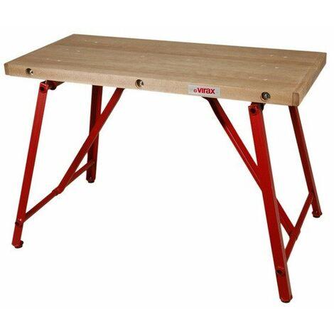 Virax - Table de monteur professionnelle plateau 1200 x 540 mm charge maxi. 500 kg