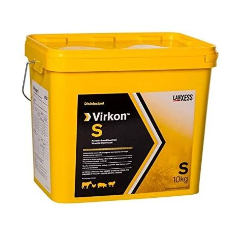 Virkon S, desinfectante virucida contra virus que afectan a animales de producción y domésticos (ZOTAL) -10 kg polvo