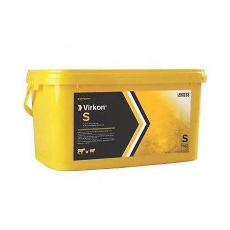 Virkon S, desinfectante virucida contra virus que afectan a animales de producción y domésticos (ZOTAL) -5 kg polvo