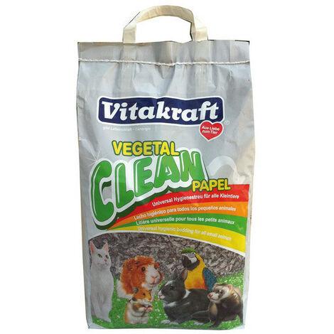 """main image of """"Viruta de papel universal vitaktaft clean, para gatos, cobayas, pájaros, conejos u otros pequeños animales, 10 l"""""""