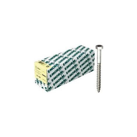 Vis a bois DIN 571 ST HDG 10x140 HP E-NORMpro (Par 50)