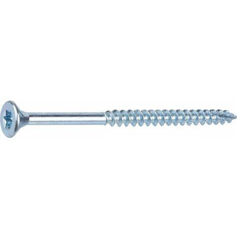 Vis à bois tête fraisée TX - 4x60/36 - 100pces - Fixpro