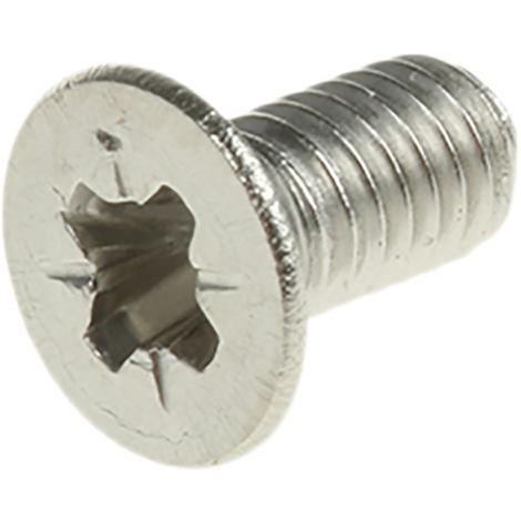 Vis à métaux RS PRO M4, tête Cylindrique, 30mm, Acier Inoxydable