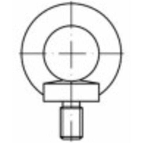 Vis à œillet TOOLCRAFT 1061333 1 pc(s) M8 acier inoxydable N/A
