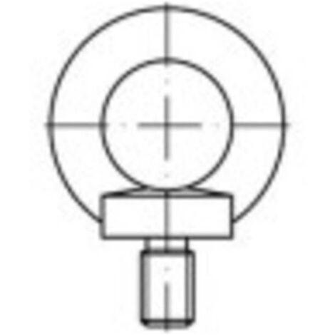Vis à œillet TOOLCRAFT 1061334 1 pc(s) M10 acier inoxydable N/A