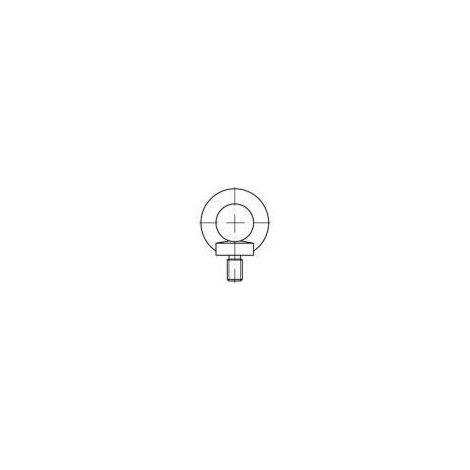 Vis à œillet TOOLCRAFT 109362 10 pc(s) M14 acier N/A Q70285
