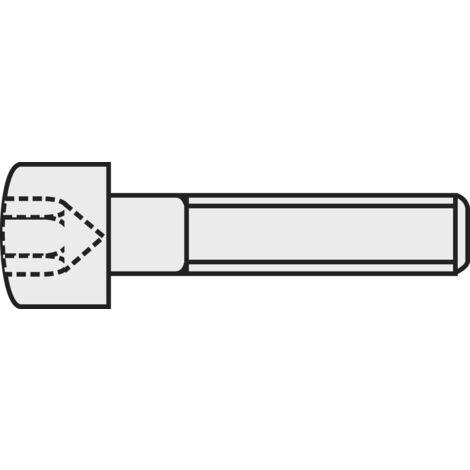 50 pcs ISO 7380 a2 Acier Inoxydable M 4x12 vis à tête cylindrique