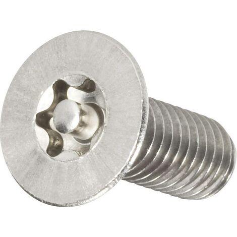 6x 6 1000 pièces cylindre vis DIN 84-Acier inoxydable a4 avec fente m1
