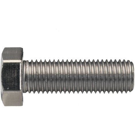 /Acier Inox A2 80/DIN 933/filetage jusqu/à t/ête M 6/x 30 Lot de 200/vis hexagonales/