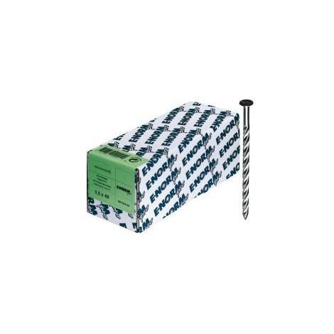 Vis acier inoxydable A2 - 3,8x 80 E-NORMpro (Par 500)