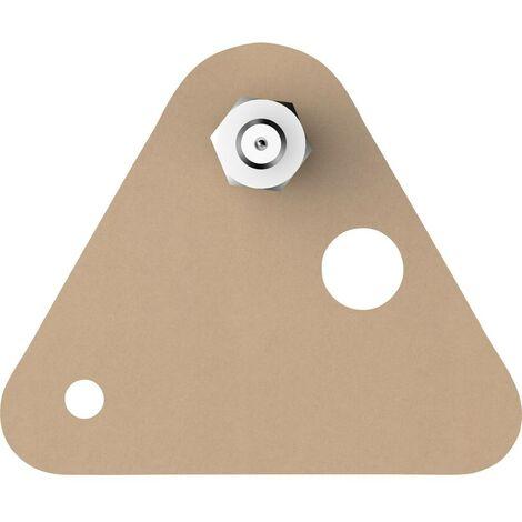 Vis adhésive triangulaire tesa® tesa 77904-00000-00 beige 2 pc(s)