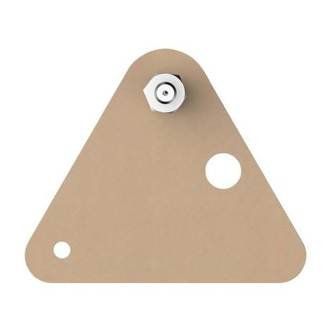 Vis adhésive triangulaire tesa® tesa 77907-00000-00 beige 2 pc(s)