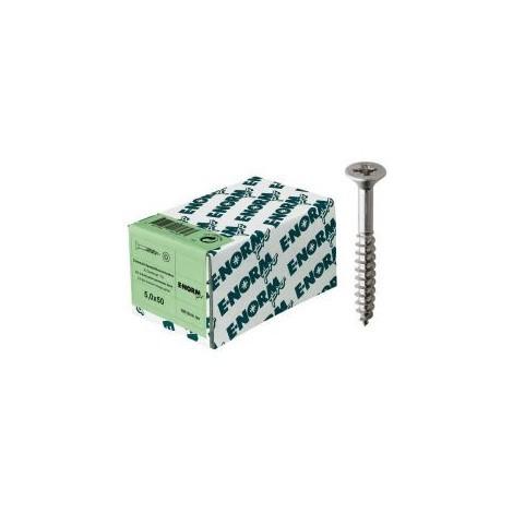 Vis agglo SeKo PZ inox A2 4,5x 80/50 E-NORMpro (Par 50)