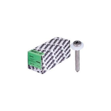 Vis avec rondelle plastique A2 3,9x16 E-NORMpro (Par 100)