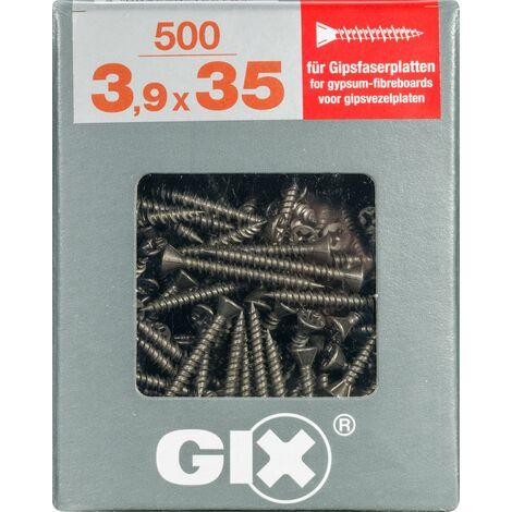 """main image of """"Vis cloison sèche Spax 'GIX Type C' 35 x 3,9 mm - 500 pcs"""""""