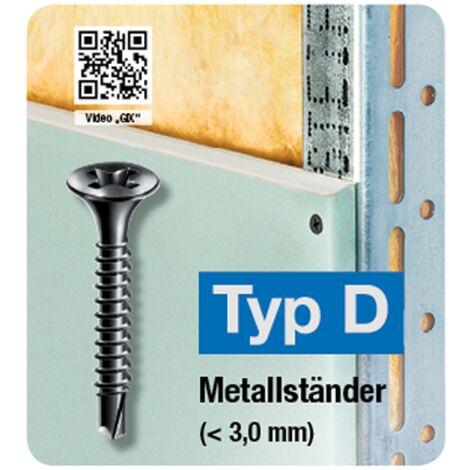 """main image of """"Vis cloison sèche Spax 'GIX Type D' 35 x 3,5 mm - 500 pcs"""""""