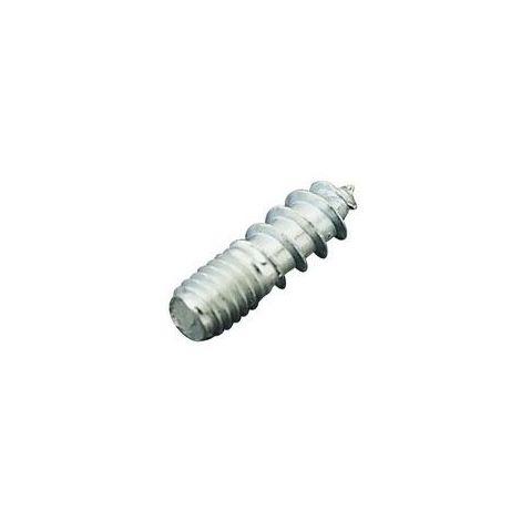 Vis double filet bois/métal - Diamètre : 4 mm - Longueur : 15 mm - SERFA