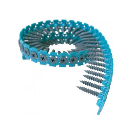 Vis en bande pour plaque de plâtre sur armature métallique (max = 0 75 mm) makita - f30913 - -