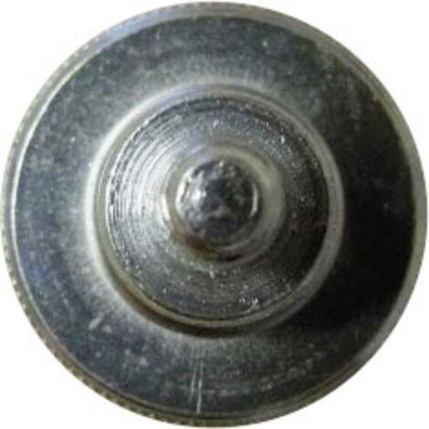Vis moletée TOOLCRAFT 194771 M4*10 D464-5.8:A2K 10 pc(s) M4 10 mm tête moletée acier N/A